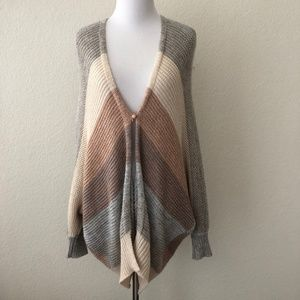 Rebecca Taylor Cocoon Cardigan striped XS/S